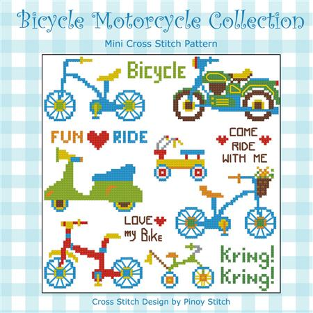 click here to view larger image of Bicycle Motorcycle (chart)
