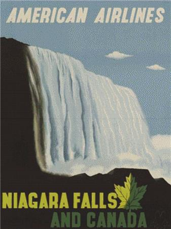 click here to view larger image of Niagara Falls And Canada (chart)