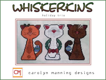 click here to view larger image of Holiday Trio - December Whiskerkins Trio (chart)
