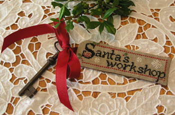 click here to view larger image of Santas Workshop (chart)