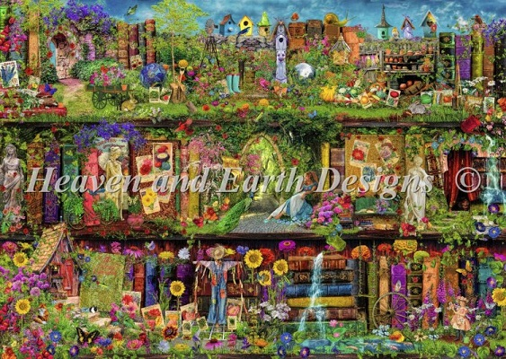 click here to view larger image of Mini The Secret Garden (chart)