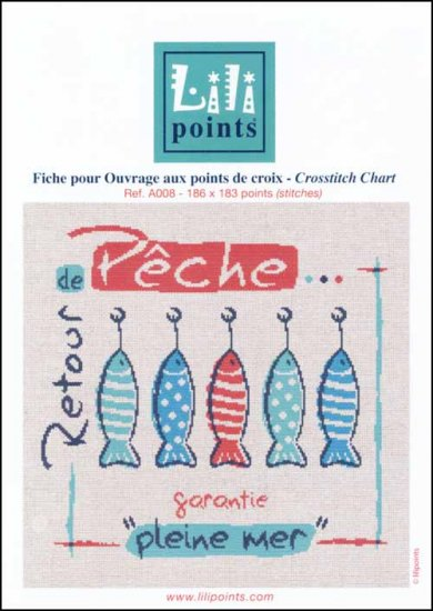 click here to view larger image of Retour De Peche (Gone Fishing) (chart)