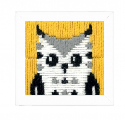 click here to view larger image of Hella (Owl) Long Stitch (needlepoint)