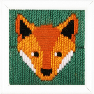 click here to view larger image of Gunther (Fox) Long Stitch (needlepoint)