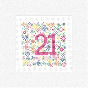 click here to view larger image of Greeting Cards - Occasions 21 (counted cross stitch kit)