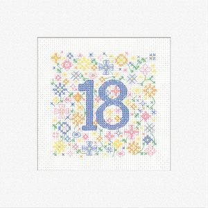 click here to view larger image of Greeting Cards - Occasions 18 (counted cross stitch kit)