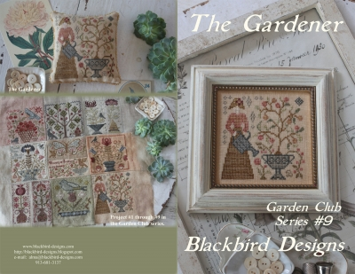 click here to view larger image of The Gardener - Garden Club Series 9 (chart)