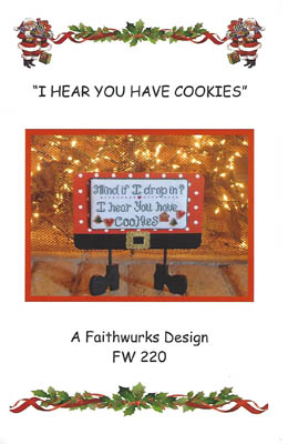 click here to view larger image of I Hear You Have Cookies (chart)