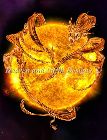click here to view larger image of Mini Sun Dragon (chart)