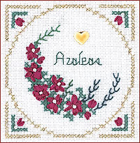 click here to view larger image of Azaleas Kit - Beyond Cross Stitch Level 2 (Hardanger and Cut Work)