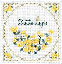 click here to view larger image of Buttercups - Beyond Cross Stitch Level 2 (Hardanger and Cut Work)