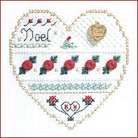 click here to view larger image of Noel - Beyond Cross Stitch Level 3 (Hardanger and Cut Work)