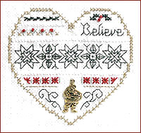 click here to view larger image of Believe - Beyond Cross Stitch Level 3 (Hardanger and Cut Work)