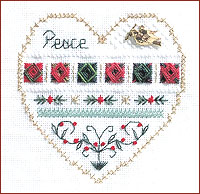 click here to view larger image of Peace - Beyond Cross Stitch Level 3 (Hardanger and Cut Work)