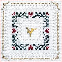 click here to view larger image of Evergreen Kit - Beyond Cross Stitch Level 4 (Hardanger and Cut Work)