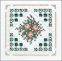 click here to view larger image of Bouquet Kit - Beyond Cross Stitch Level 5 (Hardanger and Cut Work)