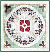 click here to view larger image of Cranberry Wreath - Beyond Cross Stitch Level 6 (Hardanger and Cut Work)