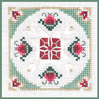 click here to view larger image of Pomegranate - Beyond Cross Stitch Level 6 (Hardanger and Cut Work)