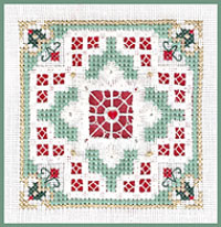 click here to view larger image of Christmas Cheer - Beyond Cross Stitch Level 6 (Hardanger and Cut Work)