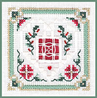 click here to view larger image of Christmas Greens - Beyond Cross Stitch Level 6 (Hardanger and Cut Work)