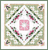 click here to view larger image of Daisy Chain - Beyond Cross Stitch Level 6 (Hardanger and Cut Work)