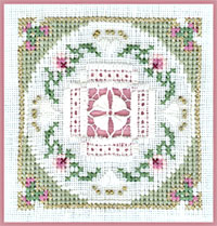 click here to view larger image of Fans And Roses - Beyond Cross Stitch Level 6 (Hardanger and Cut Work)