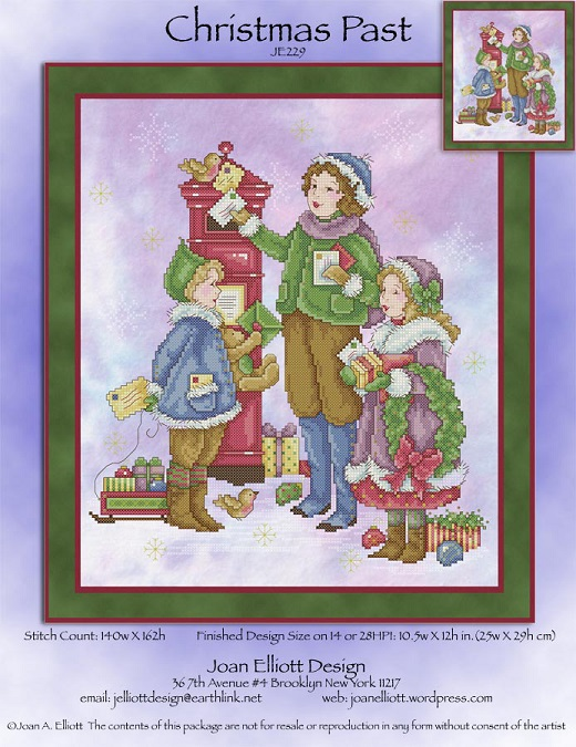 click here to view larger image of Christmas Past (chart)