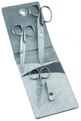 click here to view larger image of Three Piece Stainless Steel Scissor Set (accessory)