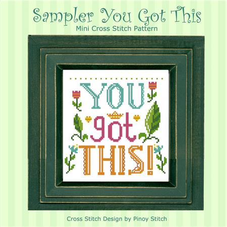 click here to view larger image of You Got This Sampler (chart)