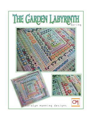 click here to view larger image of Garden Labyrinth, The - Spring (chart)