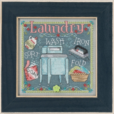 click here to view larger image of Laundry (counted cross stitch kit)