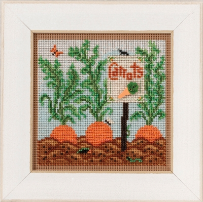click here to view larger image of Carrot Garden (counted cross stitch kit)