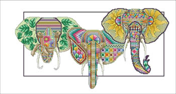 click here to view larger image of Eternal Elephants (chart)