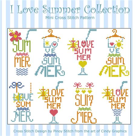 click here to view larger image of I Love Summer (chart)