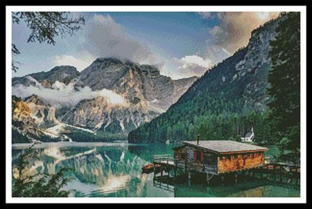 click here to view larger image of Pragser Wildsee, Italy (chart)
