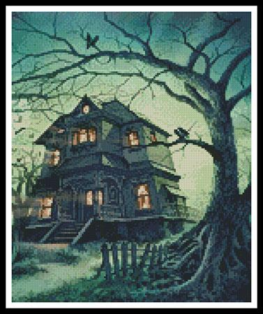 click here to view larger image of Haunted House, The (Crop) (chart)