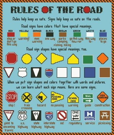 click here to view larger image of Rules Of The Road (chart)