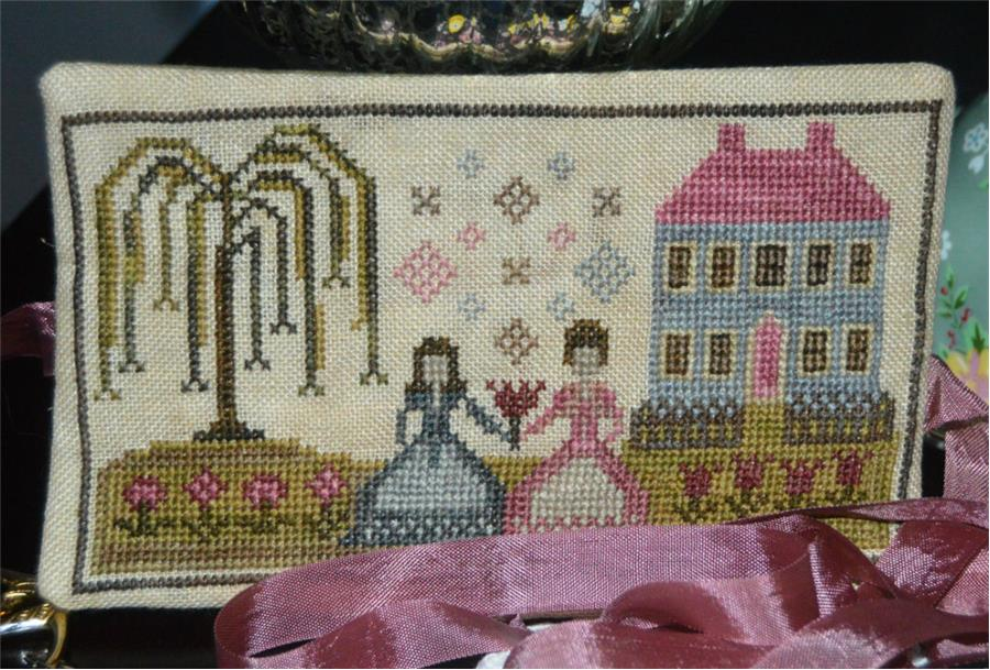 click here to view larger image of Tea For Two - Limited Edition Kit (counted cross stitch kit)
