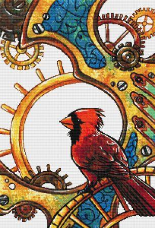 click here to view larger image of Clockwork Cardinal (chart)