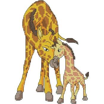 click here to view larger image of Momma N Me Giraffe (chart)