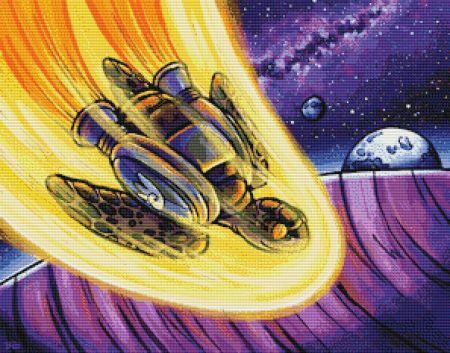 click here to view larger image of Space Turtle Prepares For Landing (chart)