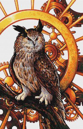 click here to view larger image of Clockwork Owl (chart)