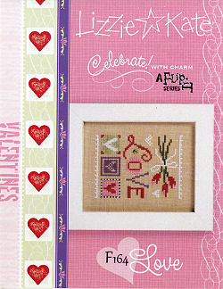 click here to view larger image of Celebrate! With Charm 2017 Flip-It  - Love (Includes Embellishment) (chart with charms/buttons)