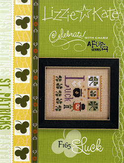 click here to view larger image of Celebrate! With Charm 2017 Flip-It - Luck (Includes Embellishment) (chart with charms/buttons)