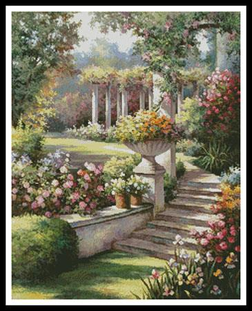 click here to view larger image of Beautiful Garden (chart)