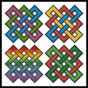 click here to view larger image of Little Celtic Designs 2 (chart)