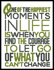 click here to view larger image of Inspirational Quote 3 (chart)