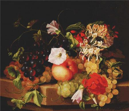click here to view larger image of Still Life With Grapes (chart)