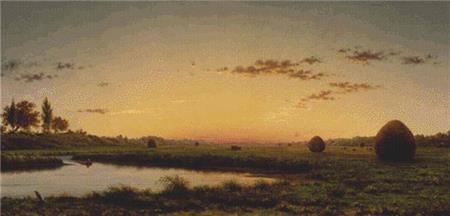 click here to view larger image of Haystacks On The Newburyport Marshes (chart)