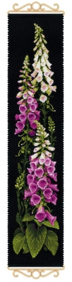 click here to view larger image of Foxgloves (counted cross stitch kit)